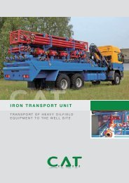 IRON TRANSPORT UNIT - C.A.T. GmbH Consulting - Agency - Trade