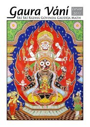 červen 2011 - Sri Sri Radha Govinda Mandir