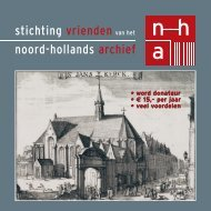 brochure - Noord-Hollands Archief