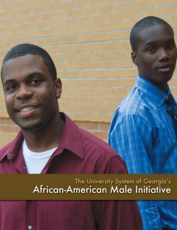 University System of Georgia's African American Male Initiative
