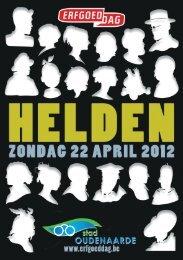 Erfgoedboekje 2012 - Stad Oudenaarde