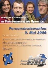 Bilderbogen HPR Beamte - bei der Bayerischen Finanzgewerkschaft
