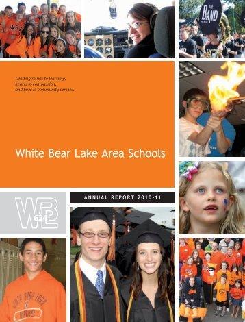 2010-11 - White Bear Lake Area Schools