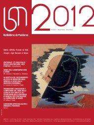 dicembre 2012 (pdf - 1.9 MB) - Ordine Provinciale dei Medici ...