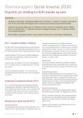 Kvartalsrapport 4/2010 - KLP - Page 3