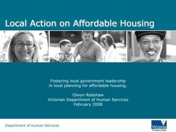 Local Action on Affordable Housing