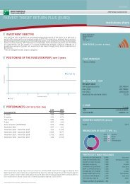 parvest target return plus (euro) - BNP Paribas Investment Partners