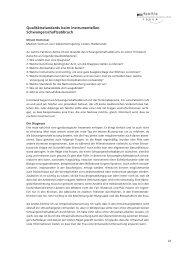 Qualitätsstandards beim instrumentellen ... - Abtreibung