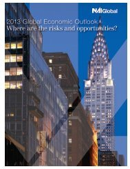2013 Global Economic Outlook Where are the risks and opportunities?