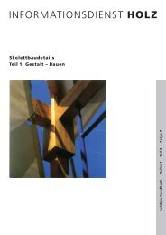 HOLZ Skelettbaudetails Teil 1: Gestalt – Bauen