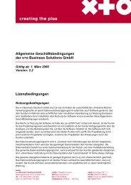 Allgemeine Geschäftsbedingungen (PDF, 128 kB) - xpluso.com