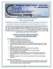 Draft Commander 3000 Specification MODEL NUMBER DM19113000