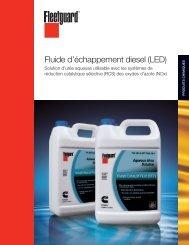 Fluide d'échappement diesel (LED) - cumminsfiltration.com