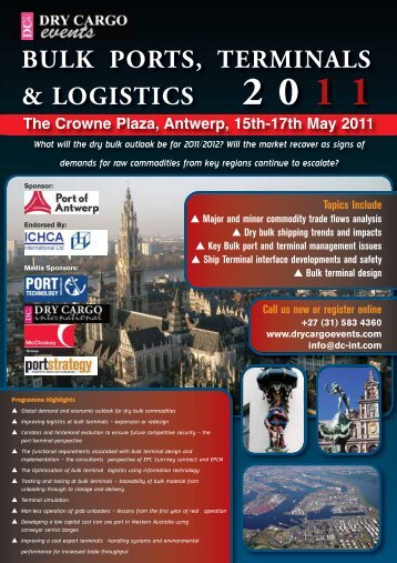 Bulk Ports, Terminals & Logistics 2011 - Dry Cargo International