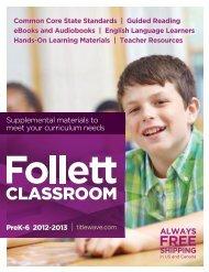 PreK-6 Classroom.pdf - Follett International