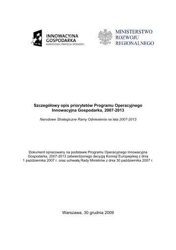 pobierz plik .pdf - Ministerstwo Gospodarki