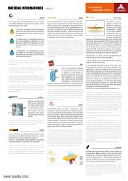 VAUDE - Materialinformationen / Fabrics