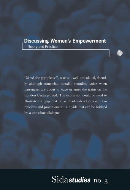 Discussing Women's Empowerment - Sida