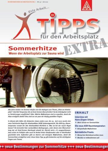 Sommerhitze - Ergo-Online