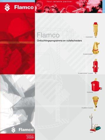 ONTLUCHTERS EN VUILAFSCHEIDERS [4.7 MByte/pdf] - Flamco