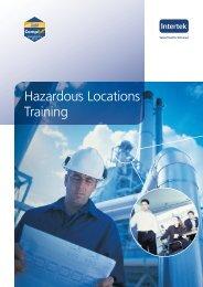 Hazardous Locations Training - Intertek