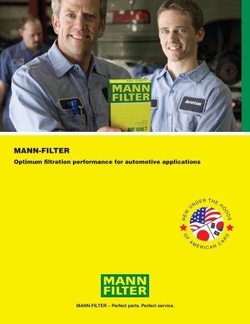 MANN-FILTER - MANN+HUMMEL
