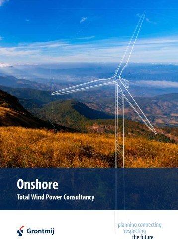 Grontmij Onshore Wind Brochure