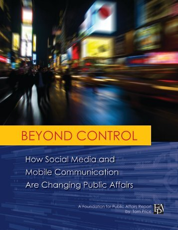 Beyond ConTRol - The Prices Write