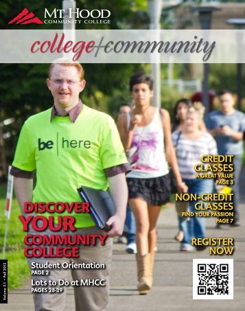 college community - Mt. Hood Community College