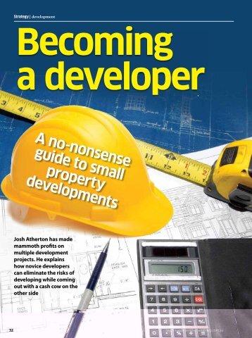 A no-nonsense guide to small property developments - Portfolio ...