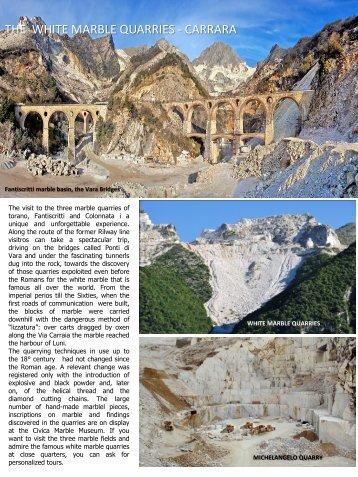 Carrara the town of Quarries - CVB Versilia Costa Apuana
