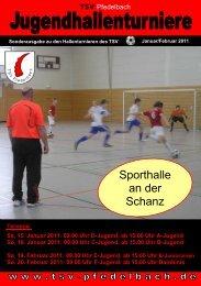 Sporthalle an der Schanz - TSV Pfedelbach
