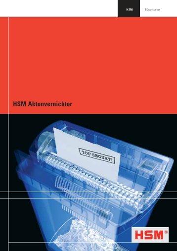 HSM Aktenvernichter - Horn & Görwitz GmbH & Co.