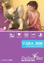 Catalog Vara 2008 - Perfect Tour