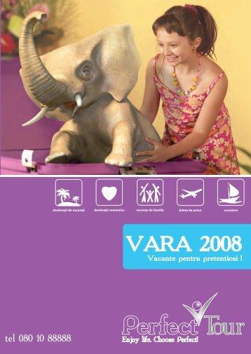 Catalog Vara 2008 - Perfect Tour