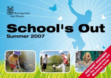 School's Out - Basingstoke and Deane Borough Council