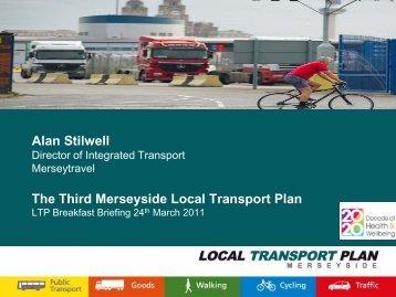 Alan Stilwell - the TravelWise Merseyside website