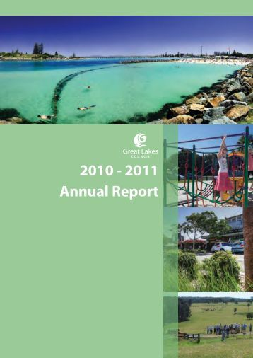 Annual Report 2010-2011.indd - Great Lakes Council