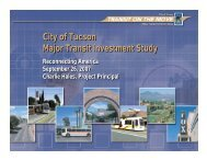 Case Study Tuscon - Hales (PDF, 717 KB) - Reconnecting America