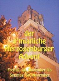 Advent-Samstagen - Wirtschaft Herzogenburg