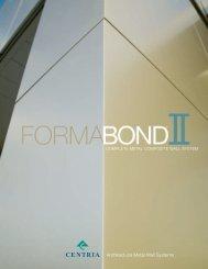 FormaBond ® II - CENTRIA