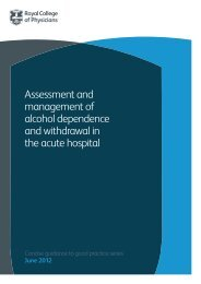 Assessment and management of alcohol dependence and ...