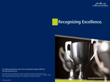 Recognizing Excellence. - Foresight Financial Management