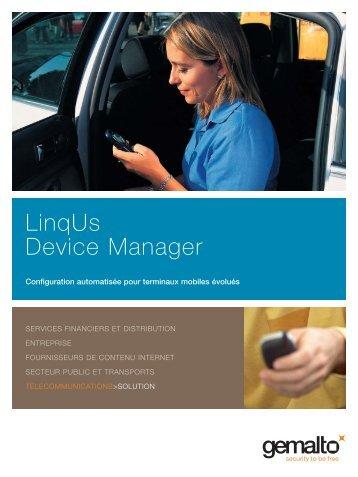 LinqUs Device Manager - Gemalto
