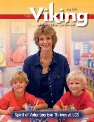 Spirit of Volunteerism Thrives at LCS - Lakeland Christian School