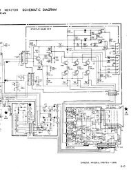 Page 1 I MONITOR SCHEMATIC DIAGRAM M@ 'Yz' SERVICE .w ...