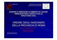 Presentazione_1 - Ordine degli Ingegneri della provincia di Roma