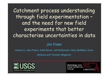 Catchment process understanding through field ... - LTHE