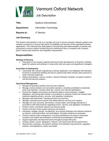 Bid Administrator Job Description  Oxford Policy Management