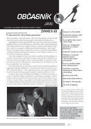 občasník 2008/i-ii - Janáčkova akademie múzických umění v Brně